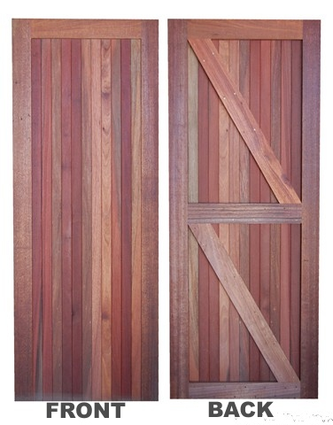 Meranti Door Open Back ... & Cedarberg Timbers Products